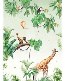 Creative Lab Amsterdam Jungle Monkey 200cm x 280cm hoog