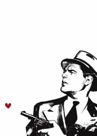 Fotowand Don't you dare! by Kubistika afm. 200cm x 280cm hoog