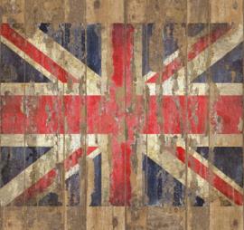 Galerie Wallcoverings Grunge G45284 Union Jack