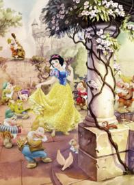 Komar fotobehang 4-494 Dancing Snow White