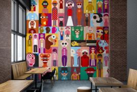 Living Walls by patel fotobehang DD113853