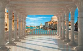 Fotobehang Uitzicht op Venetië