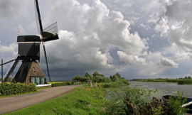 Fotobehang Holland 2880 - Vlietmolen