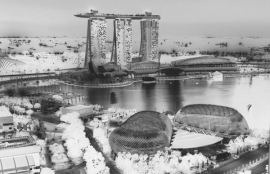 Fotobehang City Love CL69B Singapore