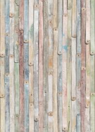 Komar 4-910 Vintage Wood 184cm x 254cm hoog