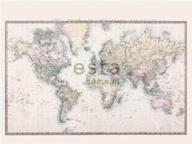 Esta photowall XL2 for kids 158210 Vintage world map