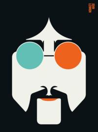 Fotowand Lennon by Bo Lundberg afm. 200cm x 270cm hoog