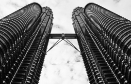 Fotobehang City Love CL95B Kuala Lumpur