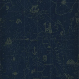 Ralph Lauren Singature Islesboro PRL5027/04 Searsport Map