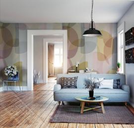 Colorful Florals&Retro fotobehang designed by INGK7304