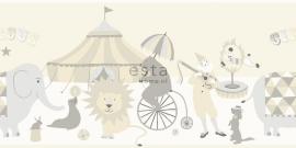 Behangrand Esta Everybody Bonjour 178703 circus