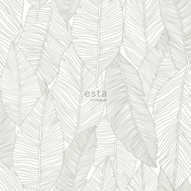 Esta Jungle Fever 151-139009 getekende bladeren