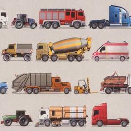 Behang Rasch Kids & Teens || 293906 trucks