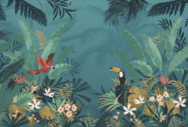 Komar XXL4-1013 Enchanted Jungle 368 x 248cm