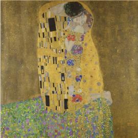 Fotobehang De kus - Gustav Klimt