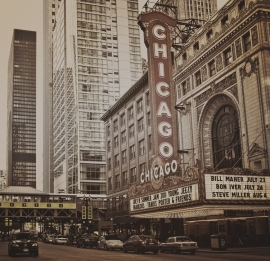 Fotobehang City Love CL36C Chicago
