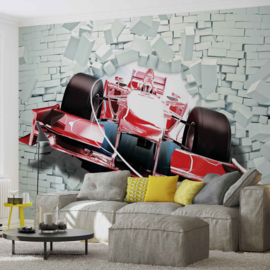 Fotobehang Formule 1 Breaking Out