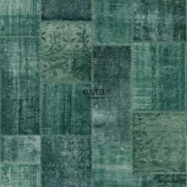 Esta Boho Chic 148652 biza marrakech kelim patchwork tapijt