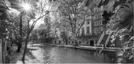 Fotobehang Holland 1404 - Utrecht oude gracht