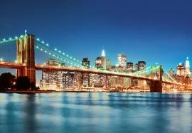 Fotobehang Idealdecor 00961 New York East River