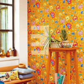 Eijffinger Pip Studio behang 341037 Floral Fantasy Yellow