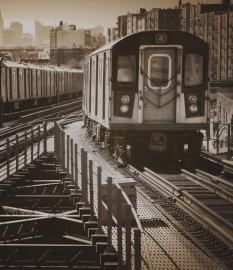 Fotobehang City Love CL02C New York Metro