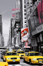 Fotobehang Idealdecor 00687 New York Cab