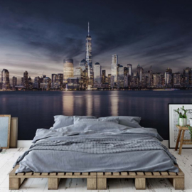 Fotobehang New York City Sunrise