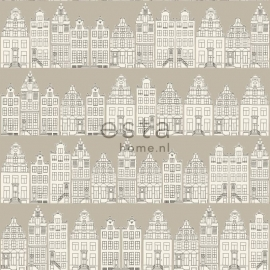 Behang Esta Denim & Co 137713 Amsterdam houses