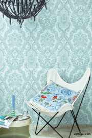 Eijffinger PiP Studio behang 375042 Lacy Dutch Zeeblauw