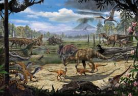 Komar Into Adventure IANGX8-009 National Geographic Dinosaurs on the Shore  400cm x 280cm hoog