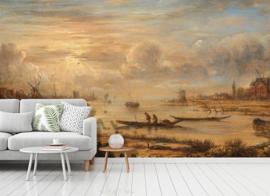 Dutch Painted Memories 8061 Riversight at sunrise