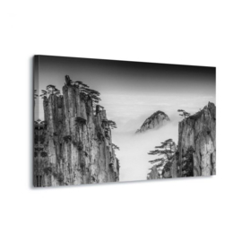 Canvasdoek Huangshan by Chenzhe