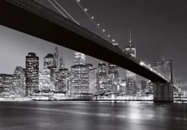 Fotobehang Idealdecor 00140 Brooklyn Bridge NY