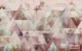 Komar Triangles Red P018B-VD4