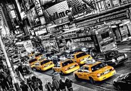 Fotobehang Idealdecor 00116 Cabs Queue