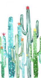 Esta photowall XL2 for kids 158829 Watercolour cacti