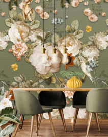 Floral Utopia INK7585 fotobehang afm. 200cm breed x 280cm hoog