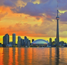 Fotobehang City Love CL10A Toronto