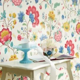 Eijffinger Pip Studio behang 341030 Floral Fantasy White