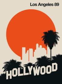 Fotowand Los Angeles 89 by Bo Lundberg afm. 200cm x 270cm hoog