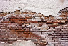 Fotobehang Grunge Brick Wall