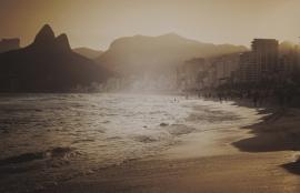 Fotobehang City Love CL52C Rio de Janeiro Beach
