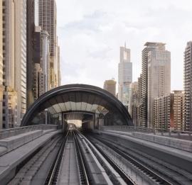 Fotobehang City Love CL84A Dubai