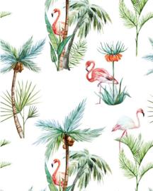Creative Lab Wallpaper on roll Flamingo Palm