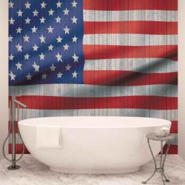 Fotobehang vlag USA America