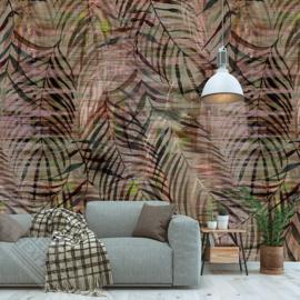 Colorful Florals&Retro fotobehang designed by INGK7284