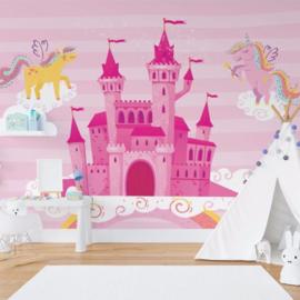 Fotobehang Ula & Lola's Unicorn Palace