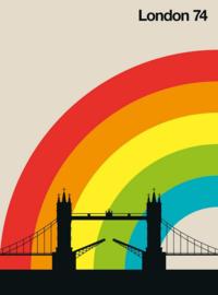 Fotowand London 74 by Bo Lundberg afm. 200cm x 270cm hoog