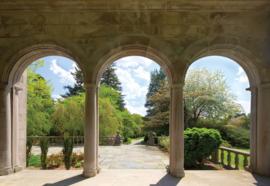Fotobehang GardenThrough Arches